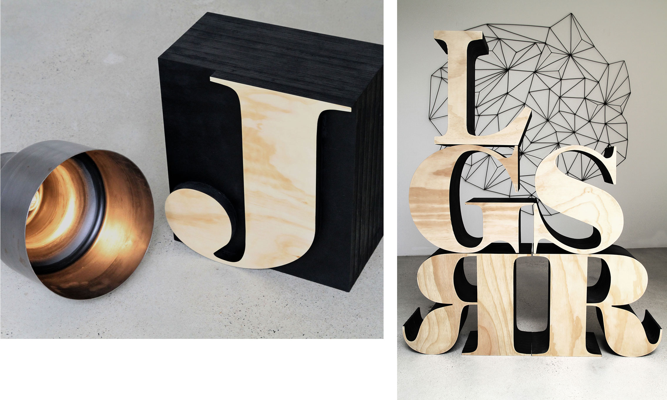 LifeSpaceJourney Alphabet Stool