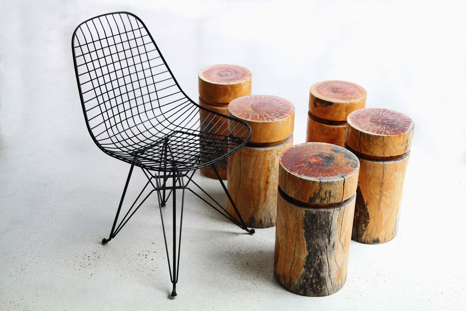 LifeSpaceJourney Log Stool