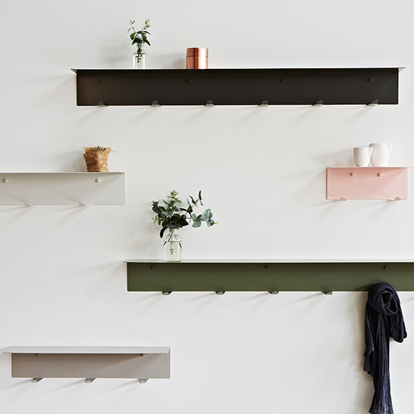 LifeSpaceJourney Wall Hook Shelves
